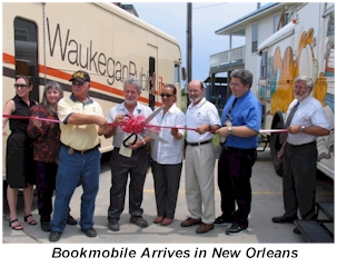 Bookmobile arrives in New Orleans