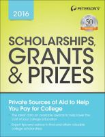 Benefits of Citizenship Scholarships Book