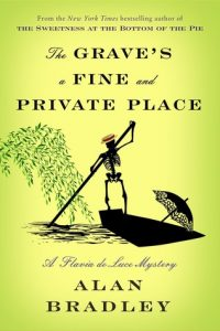 book cover the grave's a fine and private place