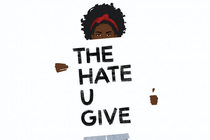 cover of the book 'The Hate U Give.""